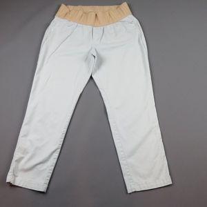 GAP 1969 MATERNITY Pale Blue Best Girlfriend Pants